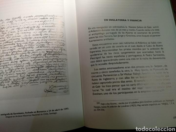 Libros: Pedro Sarmiento de Gamboa. José Miguel Barros - Foto 3 - 147232893