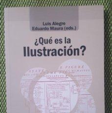 Libros: ¿QUE ES LA ILUSTRACION? LUIS ALEGRE. Lote 150645962