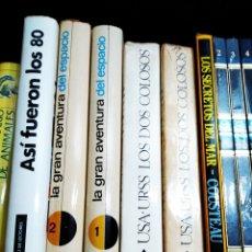 Libros: LOTE DE LIBROS DE HISTORIA DE LOS 80. Lote 156112124