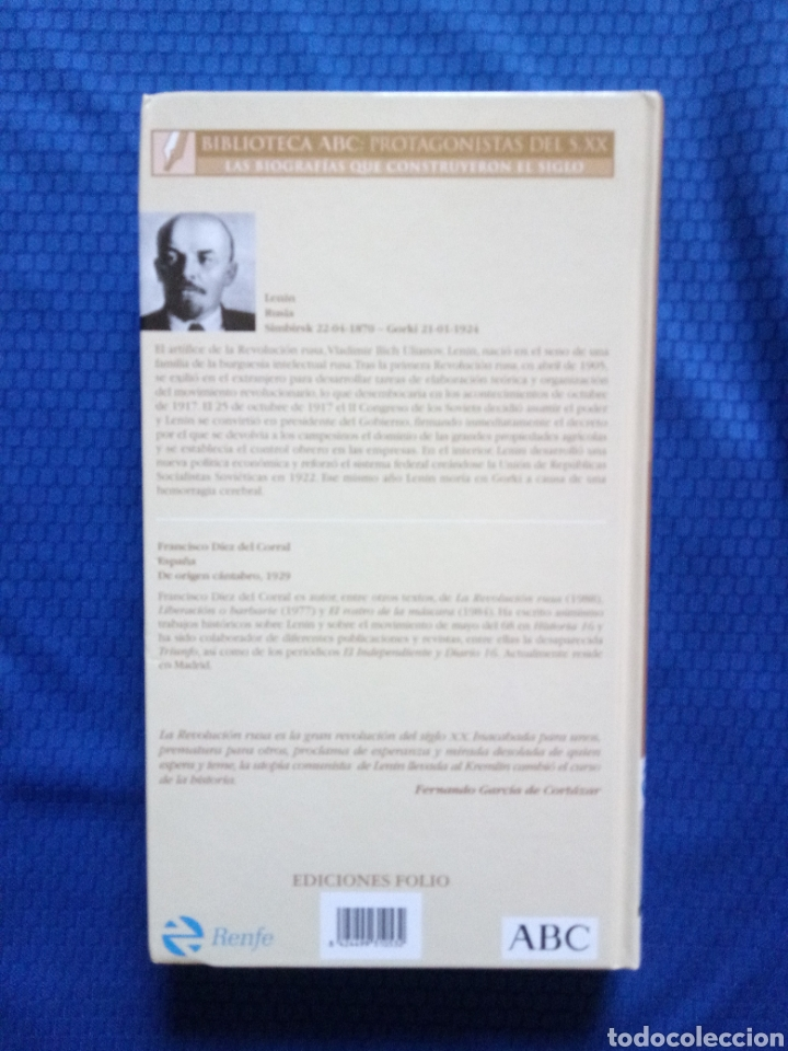 Libros: NUEVO LENIN, UNA BIOGRAFÍA BIBLIOTECA ABC : PROTAGONISTAS DEL SIGLO XX TAPA DURA - Foto 2 - 165581394