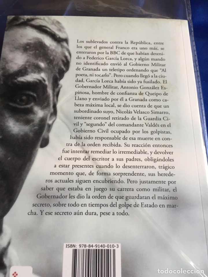 Libros: García Lorca:Lo desenterraron - Foto 2 - 168375117