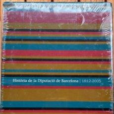 Libros: HISTORIA DE LA DIPUTACIÓ DE BARCELONA 1812 - 2005. (3 TOMOS) - SEGELLAT. Lote 172022168