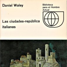 Libros: CIUDADES-REPÚBLICA ITALIANAS, LAS. Lote 172627265