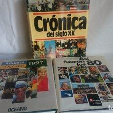 Libros: GRAN LOTE DE TRES LIBROS DE HISTORIA AÑOS 80/90 Y SIGLO XX. Lote 175053612