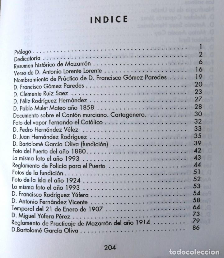 Libros: MAZARRÓN, SU MAR Y SUS MARINOS. LIBRO FUNDACION CAJAMURCIA - Foto 2 - 177518323