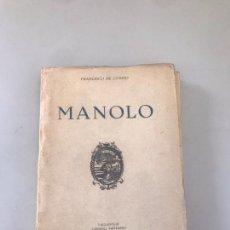 Libros: MANOLO. Lote 180177340