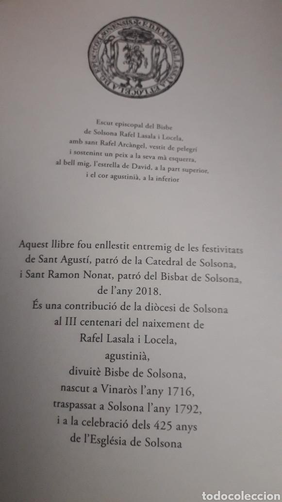Libros: Nuevo libro sobre el obispo de Solsona Rafael Lasala (Vinaros 1716-Solsona 1792). Publicado 2018. - Foto 2 - 180941347