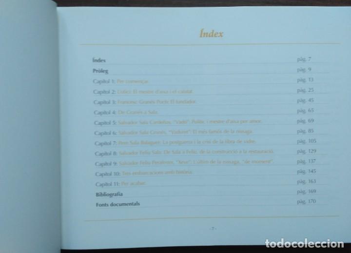 Libros: LES DRASSANES SALA DE LESCALA. SIS GENERACIONS DE MESTRES DAIXA - Foto 3 - 190128622