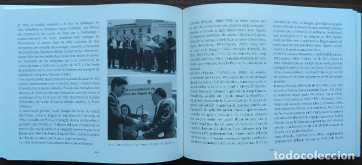 Libros: LES DRASSANES SALA DE LESCALA. SIS GENERACIONS DE MESTRES DAIXA - Foto 7 - 190128622