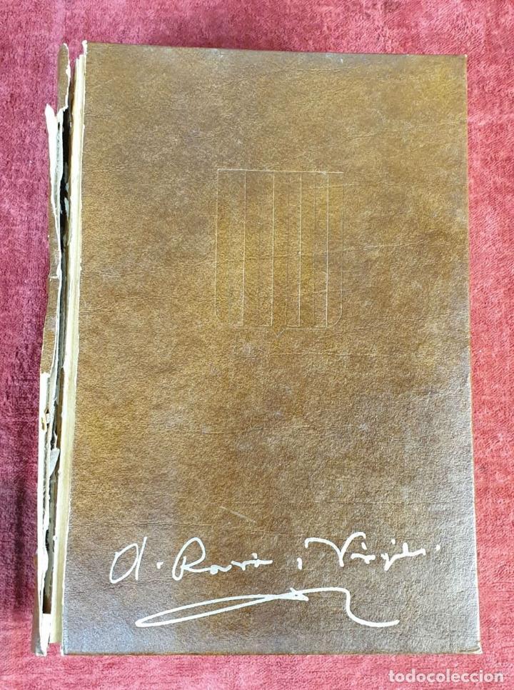 Libros: HISTORIA DE CATALUNYA. 10 TOMOS. ANTONI ROVIRA I VIRGILI. ENC. VASCA. AÑO 1972 - Foto 6 - 190221970