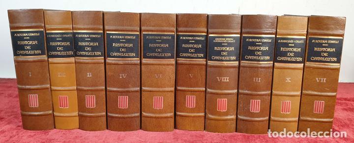 HISTORIA DE CATALUNYA. 10 TOMOS. ANTONI ROVIRA I VIRGILI. ENC. VASCA. AÑO 1972 (Libros Nuevos - Historia - Historia Moderna)