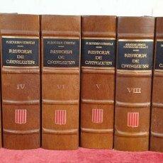 Libros: HISTORIA DE CATALUNYA. 10 TOMOS. ANTONI ROVIRA I VIRGILI. ENC. VASCA. AÑO 1972. Lote 190221970