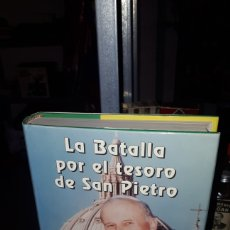Libros: LA BATALLA POR EL TESORO DE SAN PIETRO ALVARO BAEZA L NUEVO. Lote 191210500