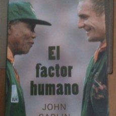 Libros: EL FACTOR HUMANO, JOHN CARLIN. Lote 191342138