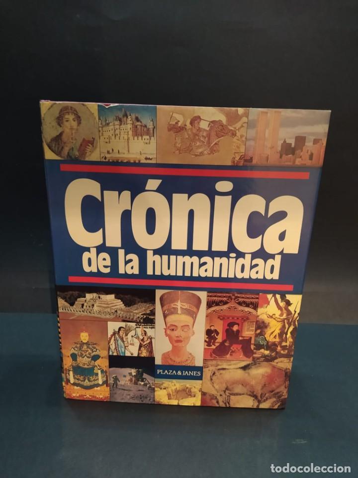 CRONICA DE LA HUMANIDAD EDITORIAL PLAZA & JANES (Libros Nuevos - Historia - Historia Moderna)