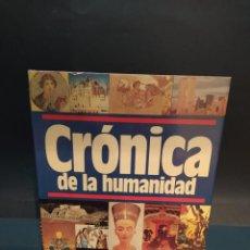 Libros: CRONICA DE LA HUMANIDAD EDITORIAL PLAZA & JANES. Lote 200159340