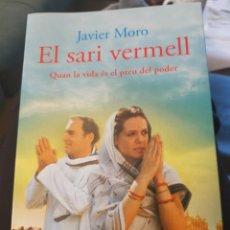 Libros: LLIBRE EL SARI VERMELL DE TOMÁS MORO. Lote 201348516
