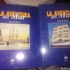 Livres: LA AVENTURA DEL MAR YATES DE LUJO TOMO 1Y2. Lote 203585586