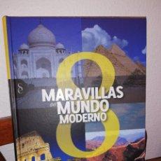 """Libros: """"OCHO MARAVILLAS DEL MUNDO MODERNO"""". Lote 204457010"""