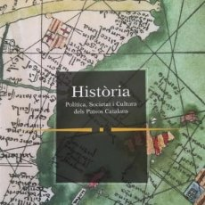 Libros: HISTORIA POLITICA SOCIETAT I CULTURA PAISOS CATALANS. Lote 204976975