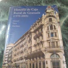 Libros: HISTORIA DE CAJA RURAL DE GRANADA 1970-2005. NUEVO.. Lote 205843985