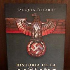 Libros: LIBRO - HISTORIA DE LA GESTAPO DE JACQUES DELARUE - LA ESFERA DE LOS LIBROS. Lote 209034056