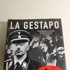 Libros: LIBRO LA GESTAPO DEL ESCRITOR RUPERT BUTLER, EDITORIAL LIBSA.. Lote 209160341