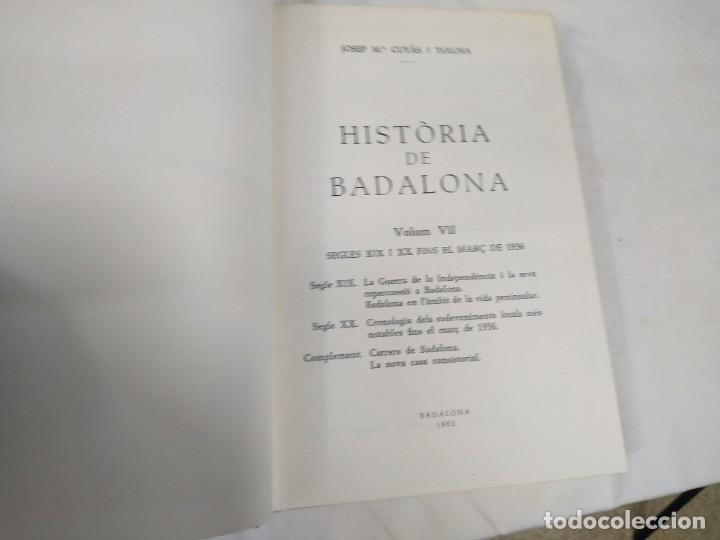 Libros: Historia de Badalona - Foto 2 - 210279410
