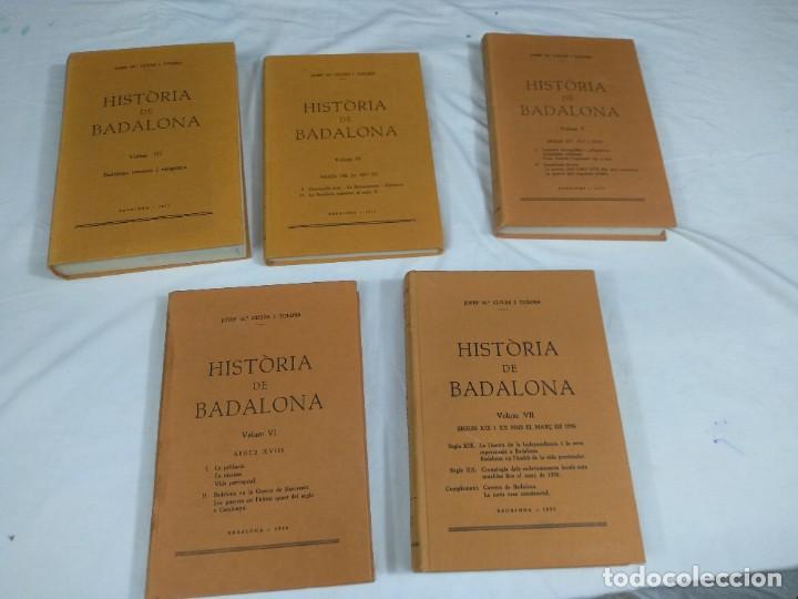 Libros: Historia de Badalona - Foto 3 - 210279410