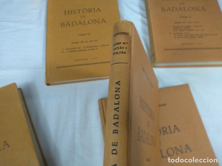 Libros: Historia de Badalona - Foto 4 - 210279410
