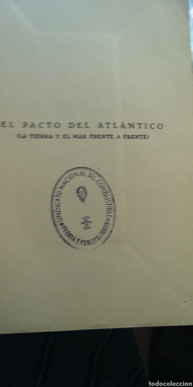 Libros: Libro impacto del Atlántico Camilo García Trelles, falta la tapa trasera - Foto 3 - 210403871