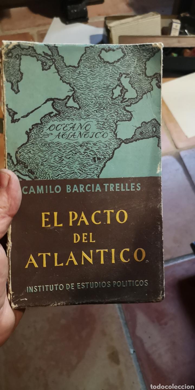LIBRO IMPACTO DEL ATLÁNTICO CAMILO GARCÍA TRELLES, FALTA LA TAPA TRASERA (Libros Nuevos - Historia - Historia Moderna)