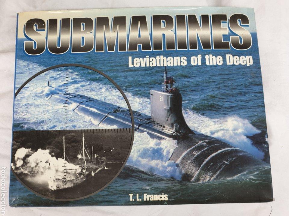 SUBMARINES, LEVIATHANS OF THE DEEP, ANYS 1990, TAPA DURA, ENGLISH EDITION (Libros Nuevos - Historia - Historia Moderna)