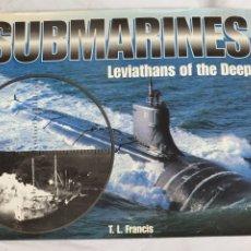 Libros: SUBMARINES, LEVIATHANS OF THE DEEP, ANYS 1990, TAPA DURA, ENGLISH EDITION. Lote 212588747