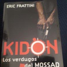 Libros: KIDON. LOS VERDUGOS DEL MOSSAD.. Lote 214549927