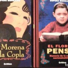 Livres: EL FLORIDO PENSIL Y LA MORENA DE LA COPLA EN CAJA. Lote 215655137