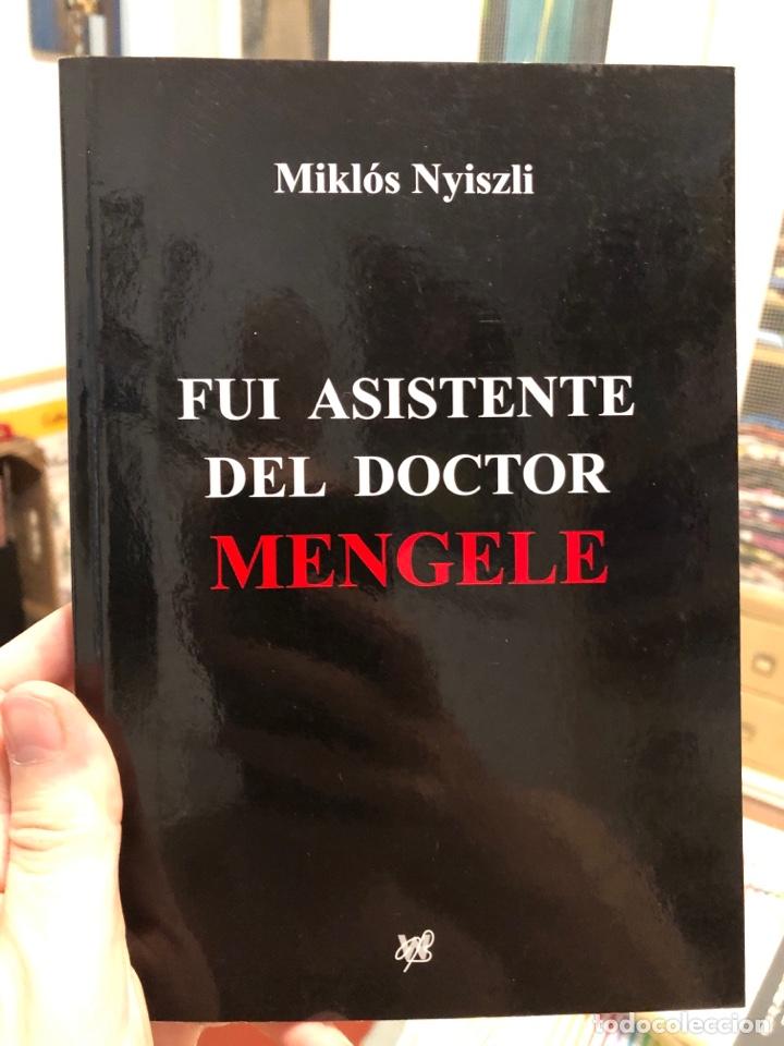 FUI ASISTENTE DEL DOCTOR MENGELE MIKLOS NYISZLI HOLOCAUSTO NAZI (Libros Nuevos - Historia - Historia Moderna)
