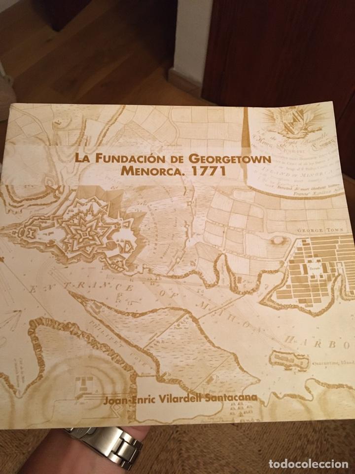 LA FUNDACIÓN DE GEORGETOWN MENORCA 1771 (Libros Nuevos - Historia - Historia Moderna)