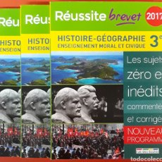 Libros: HISTORIE GEOGRAPHIE ENSEIGNEMENT MORAL ET CIVIQUE 2017. Lote 221093178