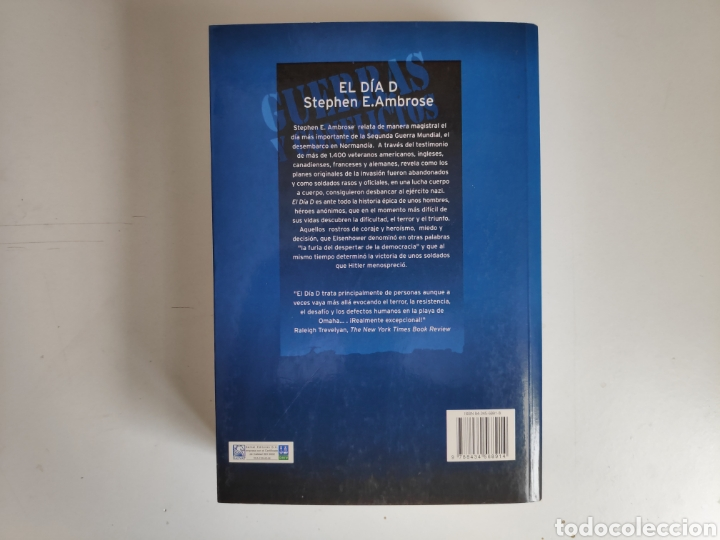 Libros: Libro. El Dia D, Stephen E. Ambrose - Foto 2 - 221782011