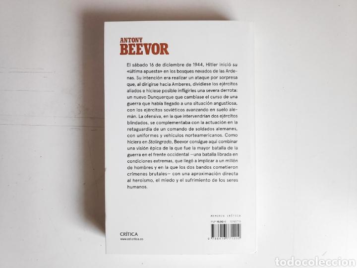 Libros: Libro. Antony Beevor, Ardenas 1944 - Foto 2 - 221782188