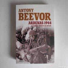 Libros: LIBRO. ANTONY BEEVOR, ARDENAS 1944. Lote 221782188