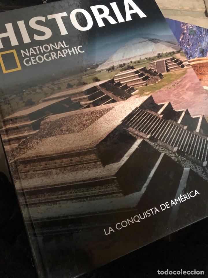 HISTORIA NATIONAL GEOGRAPHIC TOMO 22 LA CONQUISTA DE AMÉRICA (Libros Nuevos - Historia - Historia Moderna)