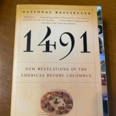 Libros: CHARLES C. MANN. 1491: NEW REVELATIONS OF THE AMERICAS BEFORE COLUMBUS. Lote 222715197