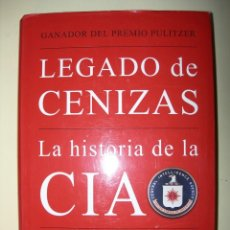 Libros: LEGADO DE CENIZAS / TIM WEINER. Lote 222925891