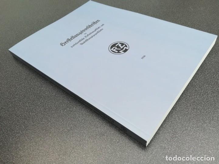 Libros: Libro Requisitos de producción de RZM para uniformes y equipos 1936, nazi hitler tercer reich - Foto 2 - 227762160