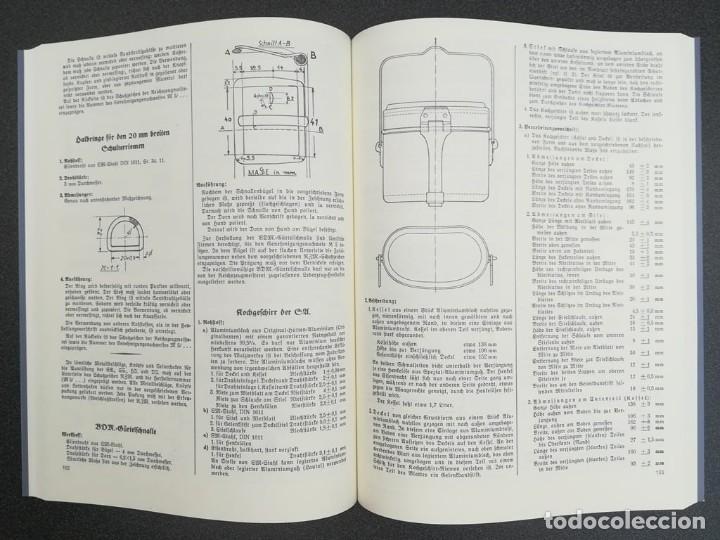 Libros: Libro Requisitos de producción de RZM para uniformes y equipos 1936, nazi hitler tercer reich - Foto 4 - 227762160