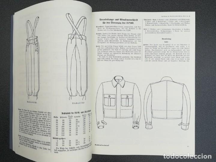 Libros: Libro Requisitos de producción de RZM para uniformes y equipos 1936, nazi hitler tercer reich - Foto 5 - 227762160
