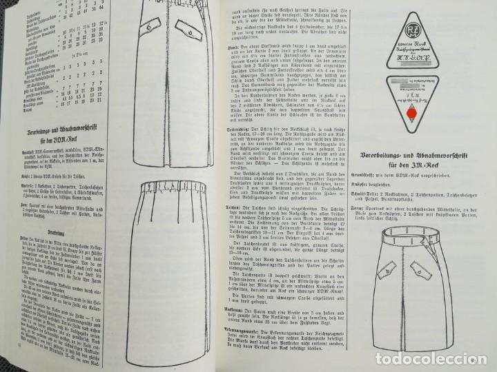 Libros: Libro Requisitos de producción de RZM para uniformes y equipos 1936, nazi hitler tercer reich - Foto 6 - 227762160