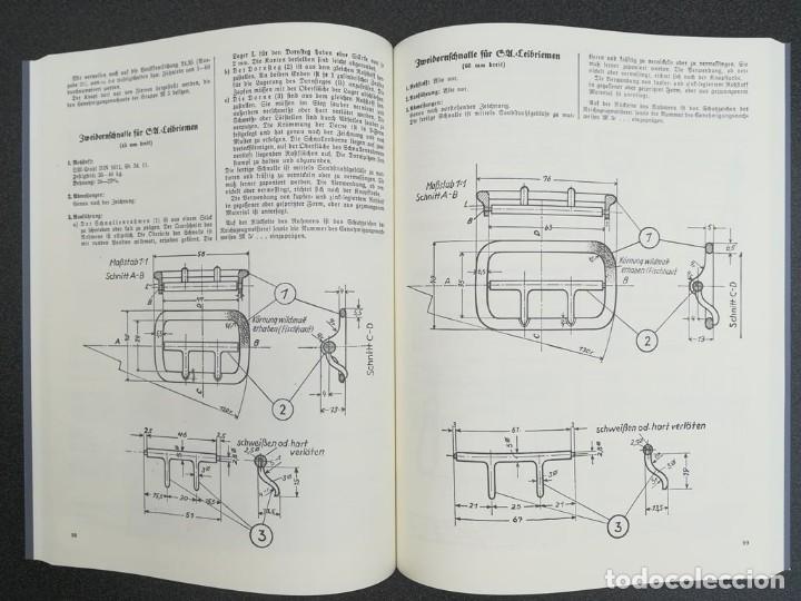 Libros: Libro Requisitos de producción de RZM para uniformes y equipos 1936, nazi hitler tercer reich - Foto 8 - 227762160